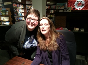 me and Laurie!